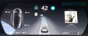 Display für Fahrer hat neue Funktionen