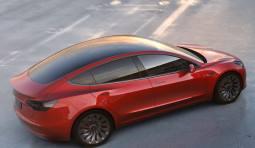 Tesla Model 3. Mieten Sie die Mittelklasse